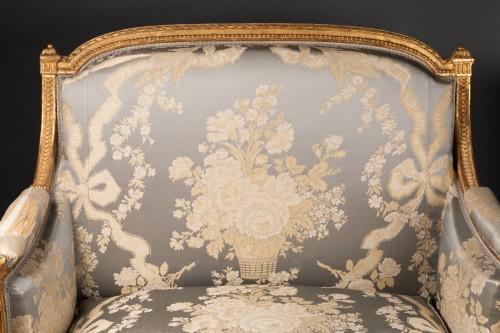 Louis XVI marquise stamped JACOB 18th century - Seating Style Louis XVI