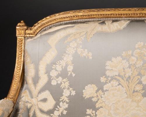 Seating  - Louis XVI marquise stamped JACOB 18th century
