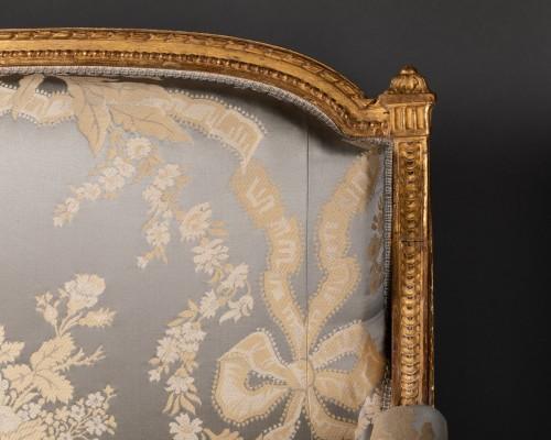 Louis XVI marquise stamped JACOB 18th century -