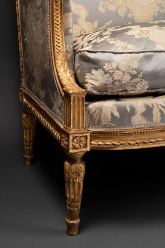Louis XVI marquise stamped JACOB 18th century - Louis XVI