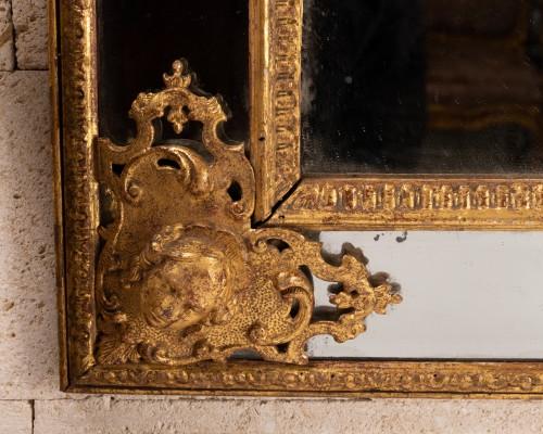Mirrors, Trumeau  - Régence mirror 18th century