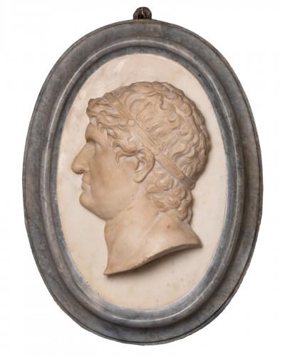 Marble medallion Italy 17 / 18th century