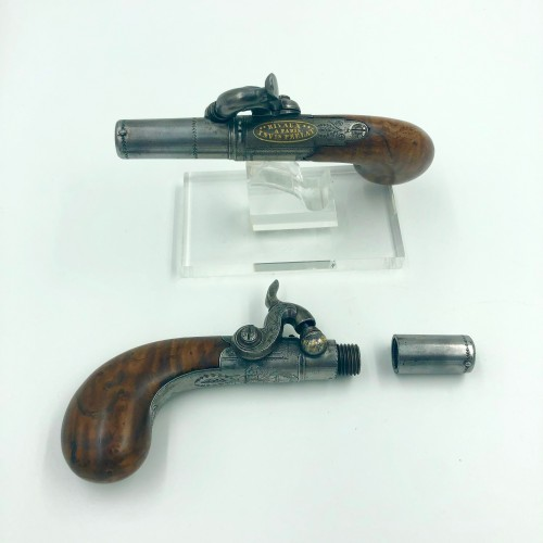 Collectibles  - Rival Percussion Guns Set in Paris About 1820