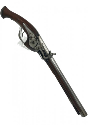 French Wheel Gun circa 1630, Signed SR