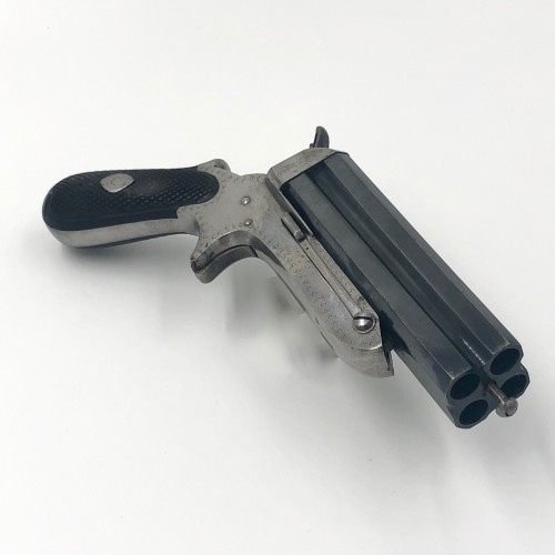 Antiquités - Sharp four-barrel system pistol