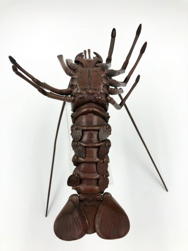 - Bronze Articulated Lobster, late 19th century, Japan