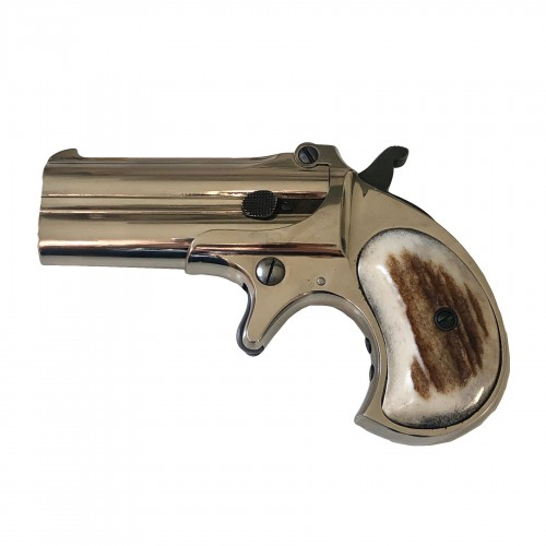 Pistolet Derringer Remington Over-Under deux coups, Calibre 41FR.