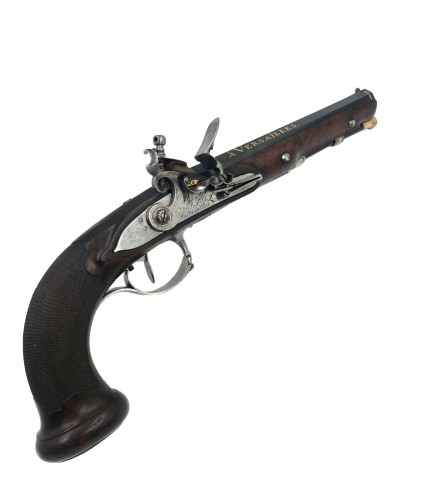 Flintlock pistol, BOUTET and Sons in Versailles, XIXth century