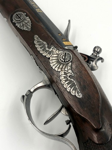 19th century - Flintlock pistol, BOUTET and Sons in Versailles, XIXth century