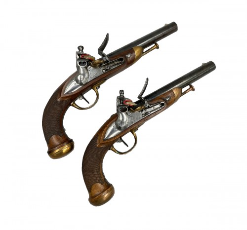 Pair of officer's pistols model 1816