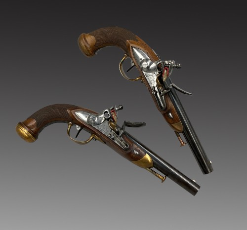 Pair of officer's pistols model 1816 - Collectibles Style