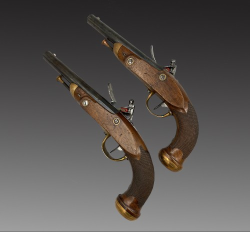 Pair of officer's pistols model 1816 -