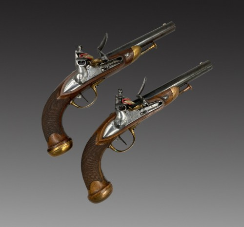 - Pair of officer's pistols model 1816
