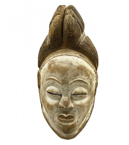 Okuyi Anthropomorphic Mask Punu/lumbo Culture Southern Gabon