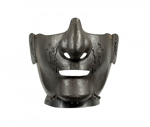 MEMPO - half protection mask for samurai. Edo period 18th century