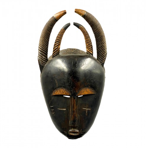 Horn mask  Yaouré Culture, Ivory Coast