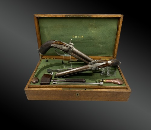 Collectibles  - Boxed Set Containing Two Pairs Of Deluxe Pistols, By A. Gauvain, France