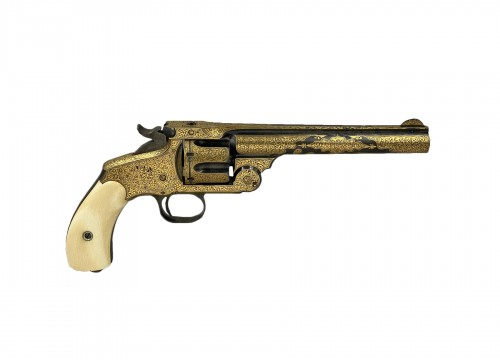Smith & Wesson revolver, N°3. Exceptional Model For The Turkish Market. XIX