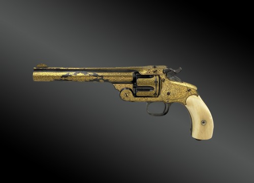 Smith & Wesson revolver, N°3. Exceptional Model For The Turkish Market. XIX - Collectibles Style