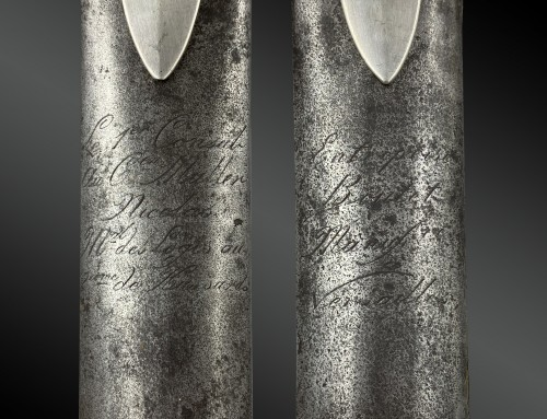 Collectibles  - Saber of light cavalry troop awarded to Commander Nicolas Muller Maréchal d