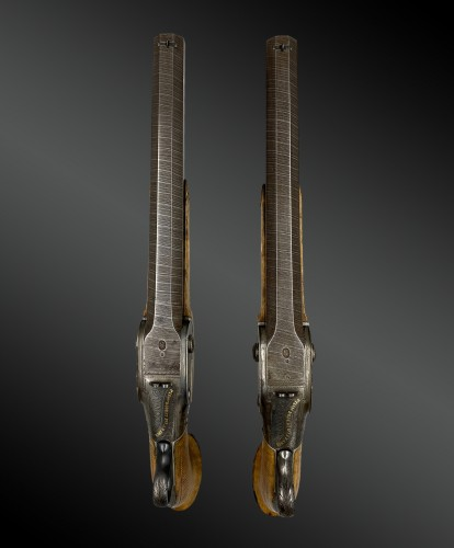 Collectibles  - Pair Of System Pistols, by Jean Antoine ROBERT in Paris, About 1826