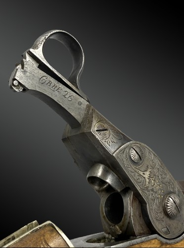 Pair Of System Pistols, by Jean Antoine ROBERT in Paris, About 1826 -