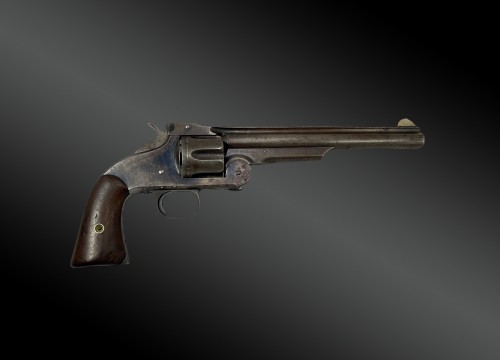 Smith and Wesson revolver, N°3 first model - Collectibles Style