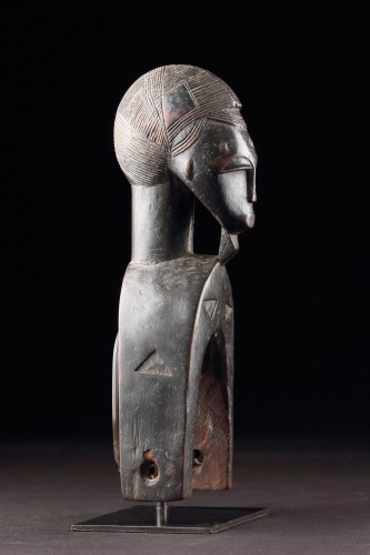 Tribal Art  - West African Cote d'Ivoire Baule Loom Heddle Pulley