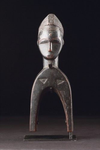 West African Cote d'Ivoire Baule Loom Heddle Pulley -