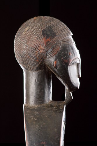 Antiquités - West African Cote d'Ivoire Baule Loom Heddle Pulley