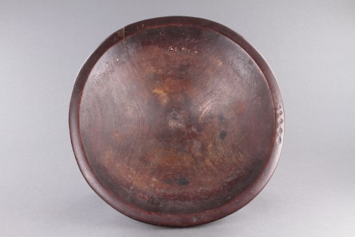 Tribal Art  - Polynesian Fijian Priest's 'Tanoa' or 'Kumete' Shallow Bowl