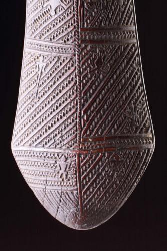 Tribal Art  - Polynesian Tongan Ironwood War Club of 'Apai'Apai'