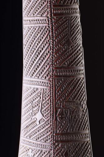 Polynesian Tongan Ironwood War Club of 'Apai'Apai' -