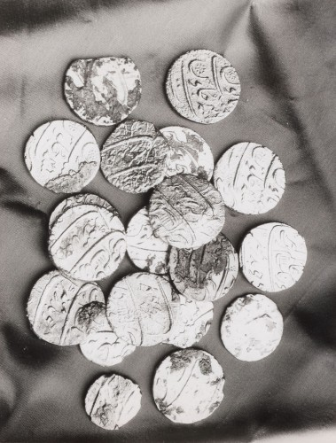 Hoard of Silver Rupees Recovered from the Wreck of the 'Taj Mahal'  -