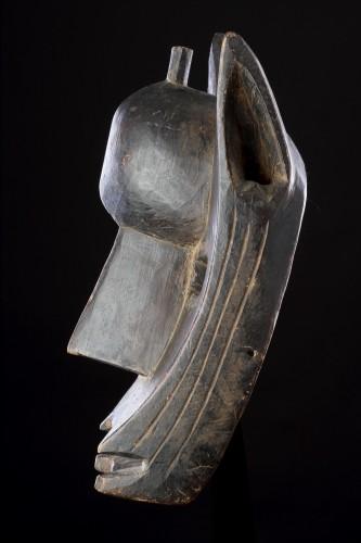 Mali Bamana Koré Initiation Mask in the Form of a Hyena 'Surukuw'  - Tribal Art Style