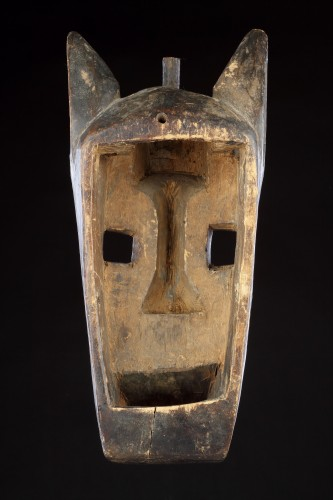 20th century - Mali Bamana Koré Initiation Mask in the Form of a Hyena 'Surukuw'