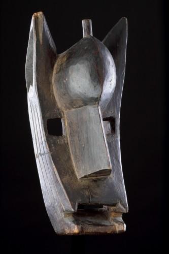 Mali Bamana Koré Initiation Mask in the Form of a Hyena 'Surukuw'  -
