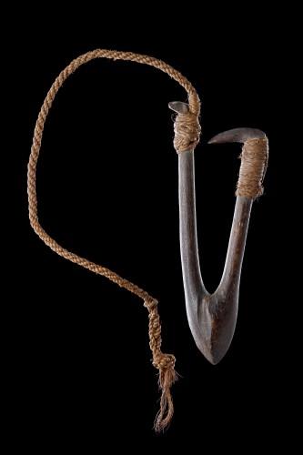 Polynesian Tuvalu Ellice Islands Fish Hook 'Kou Boru' -