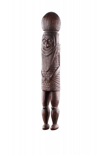 Melanesian New Caledonian Kanak Ceremonial Mourning Figure - Tribal Art Style
