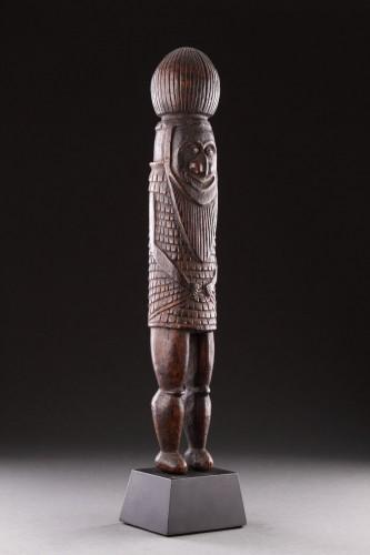 Tribal Art  - Melanesian New Caledonian Kanak Ceremonial Mourning Figure