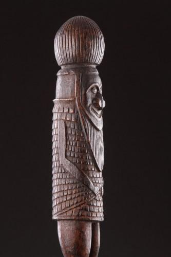 18th century - Melanesian New Caledonian Kanak Ceremonial Mourning Figure