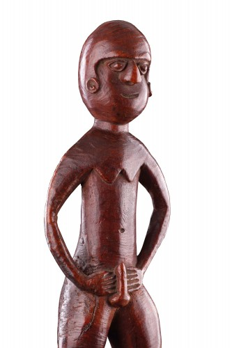 A Fine New Caledonian Kanak Spirit Figure - Tribal Art Style