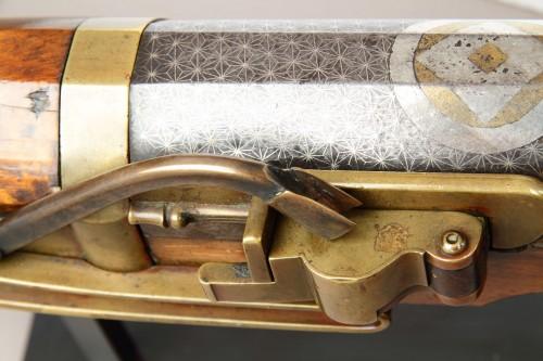 Asian Works of Art  - Massive Japanese Hand Canon 'Ozutsu Teppo'