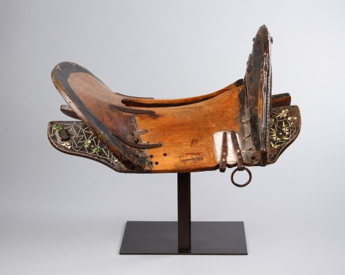 Rare Western Tibetan Horse Saddle as Used by the Kampa Horsemen -