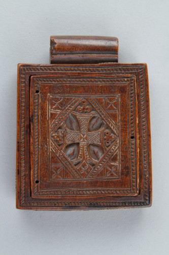 - Ethiopian Christian Devotional Double Sided Tablet Pendant