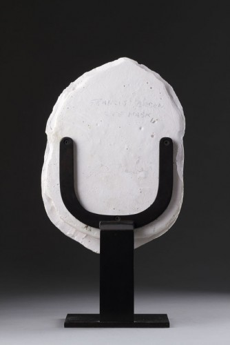 Sculpture  - A Life Mask Depicting Francis Bacon