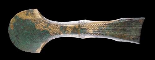 Ancient Art  - Near East Caucasian Bronze Age Koban Culture Axe Head