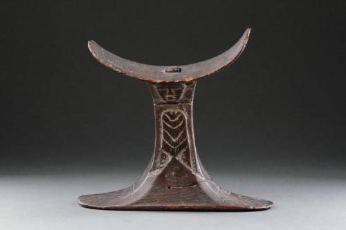 Ancient Art  - Egyptian Wooden Headrest