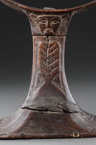Egyptian Wooden Headrest  -