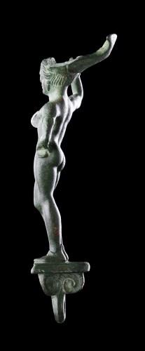 Ancient Art  - Etruscan Faliscan Bronze Patera Handle